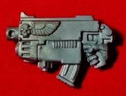 Space Marine Commander right hand Combi Plasma Gun x1